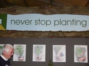 Never stop planting